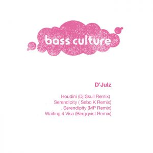 BCR054 : D'julz – Houdini Remixes (incl Dj Skull, Sebo K, MP